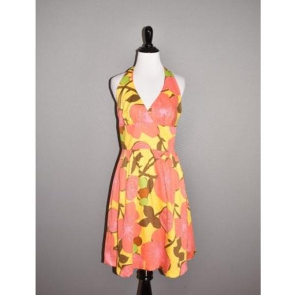 Trina Turk Dresses & Skirts - TRINA TURK Floral Halter Sundress Shift Dress.